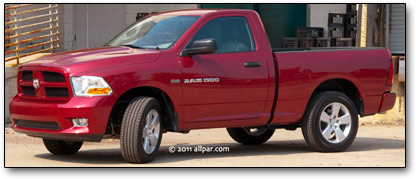2011 Ram Express pickup truck review