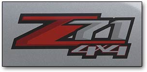 Z71 4x4 graphic